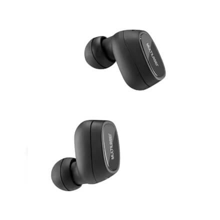 Fone de Ouvido Bluetooth TWS Sem Fio com Case Multilaser