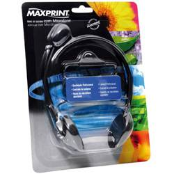Tudo sobre 'Fone de Ouvido C/ Microfone - Maxprint'