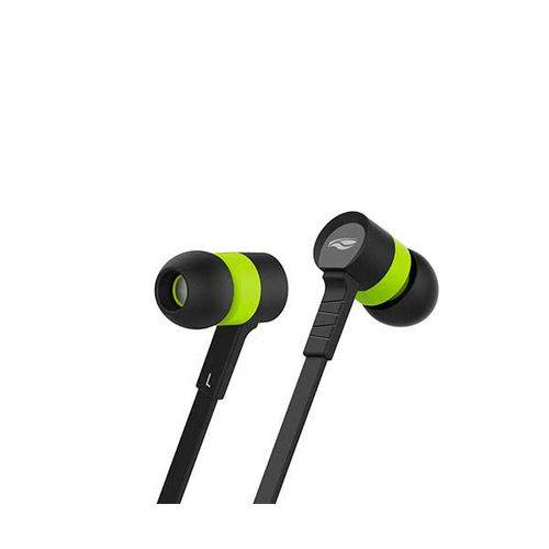 Tudo sobre 'Fone de Ouvido C3 Tech Intra-auricular Preto e Verde Ep-05bgn'
