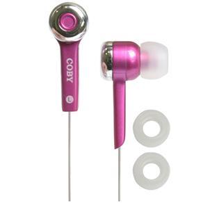 Fone de Ouvido Coby CVE52 - Pink