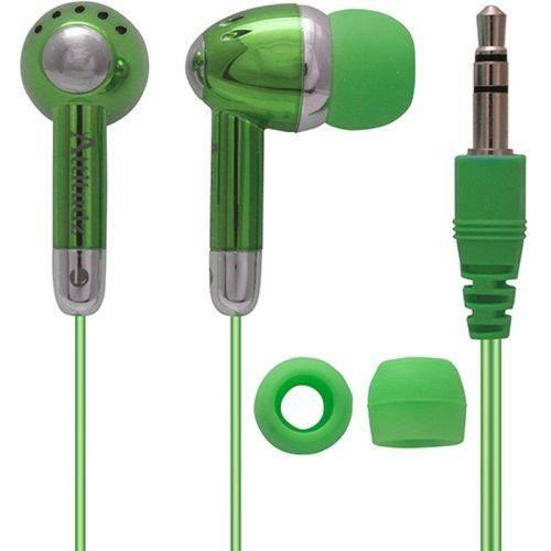 Fone de Ouvido com Fio Coby Verde - Cve53
