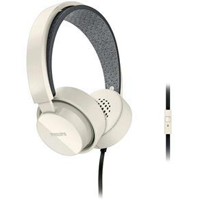 Fone de Ouvido com Microfone e Fio Philips Shibuya SHL5205WT/10 Branco