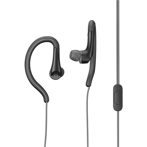 Fone de Ouvido Earbuds Sport - Sh008 - Motorola (Preto)