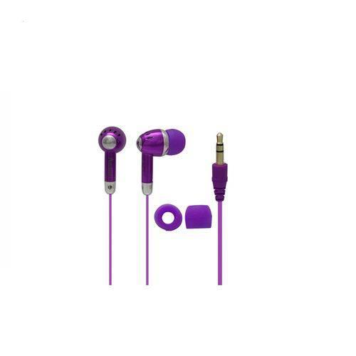 Fone de Ouvido Estéreo Attitudz em Cores Vibrantes COBY CVE5