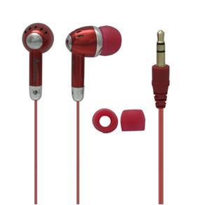 Fone de Ouvido Estéreo Attitudz Vermelho Coby