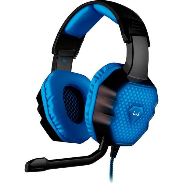 Fone de Ouvido Gamer Headset Multilaser Ph121 com Microfone 3D 7.1 Sound Led