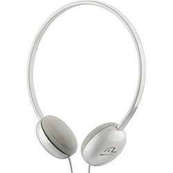 Fone de Ouvido Headphone Básico Multilaser Branco
