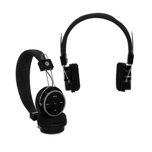 Fone de Ouvido Headphone Bluetooth 3.0 Esfer Sd Aux Rádio Fm Preto