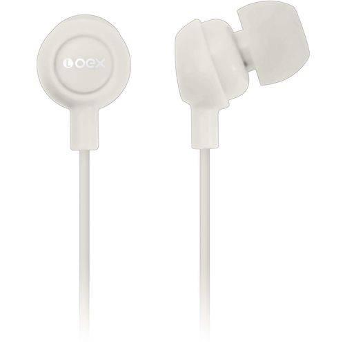 Tudo sobre 'Fone de Ouvido Intra Auricular Branco Oex Unidade'