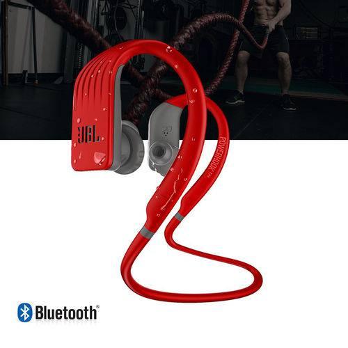 Tudo sobre 'Fone de Ouvido Jbl Endurance Jump Bluetooth Esportivo Vermelho'