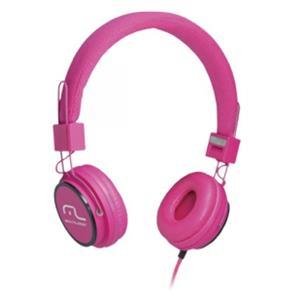Fone de Ouvido Multilaser Head Phone Fun Microfone para Celular Rosa PH088