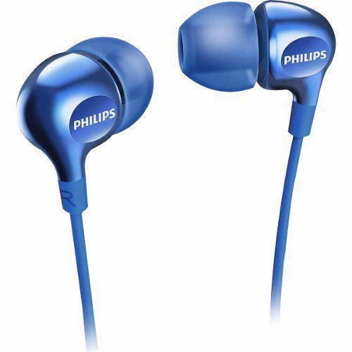 Tudo sobre 'Fone de Ouvido Philips Intra Auricular SHE3700BL - Azul'