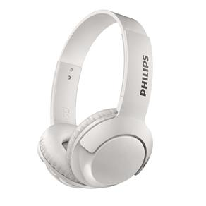 Fone de Ouvido Philips SHB3075WT/00 com Bass+ Microfone e Tecnologia Bluetooth - Branco