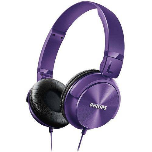 Tudo sobre 'Fone de Ouvido Philips SHL3060PP/00 Over Ear Roxo'
