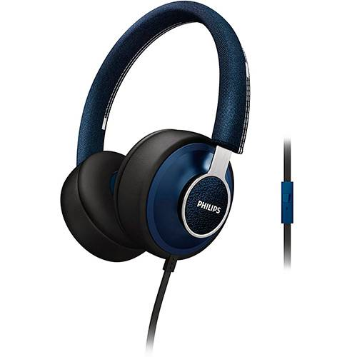 Tudo sobre 'Fone de Ouvido Philips SHL5605BL/10 Azul'