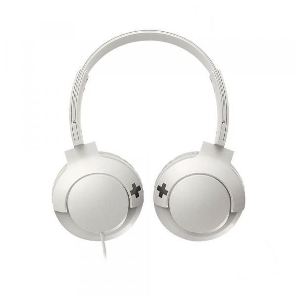 Fone de Ouvido PHILIPS Supra Auricular SHL3075 Branco - AC1944
