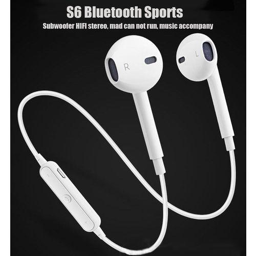 Fone de Ouvido S6 Bluetooth Sem Fio