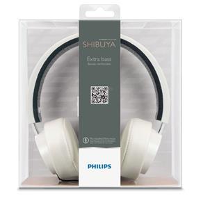 Fone de Ouvido Shibuya Philips Shl5205Wt/10: Branco