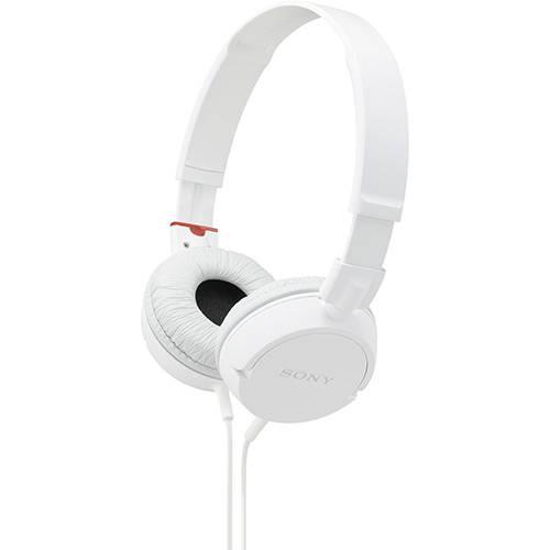 Tudo sobre 'Fone de Ouvido Sony Supra Auricular Branco -MDR-ZX100/WQAE'