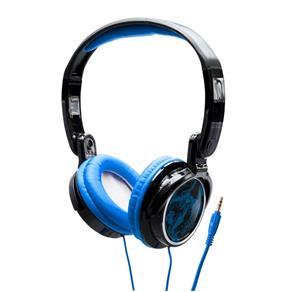 Fone de Ouvido Tipo Headphone Coby Cv400 Dobrável Jammerz Streets Azul