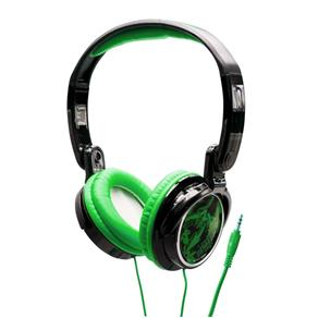 Fone de Ouvido Tipo Headphone Dobrável Coby CV400 Jammerz Streets Verde