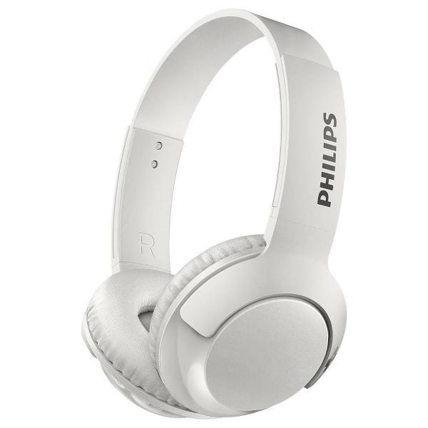 Fone de Ouvido Wireless Philips Shb3075 Supra Auricular Branco