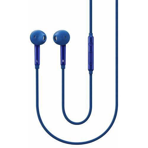 Tudo sobre 'Fone Estéreo com Fio In Ear Fit Azul com Controle'