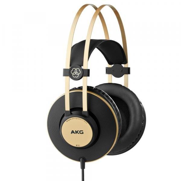 Fone Ouvido Akg Over Ear K92 Profissional