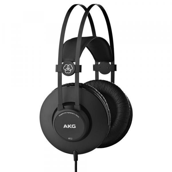 Fone Ouvido Profissional Harman Akg K52 - Estúdio Gravação