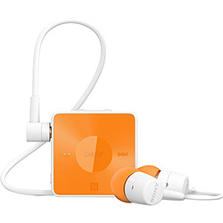 Fone Sony Bluetooth Wireless Estéreo Laranja