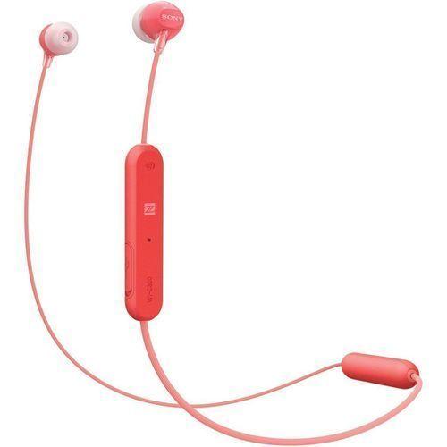 Fone Sony Wi-c300 Red Bluetooth