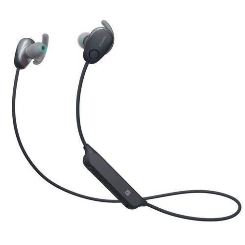 Fone Sony Wi-sp600 Preto Bluetooth