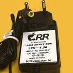 Tudo sobre 'Fonte Carregador 12v para Teclado Casio Ad A12150w'