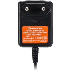 Fonte Chaveada 5VDC 1A P8 C+ 2,5mm FCTP5001 HAYONIK