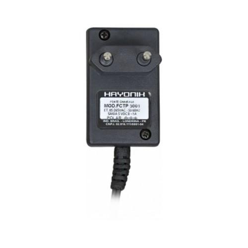 Fonte FCTP5001 5VDC 1A DLINK P8 C+ Chave 35240 - HAYONIK
