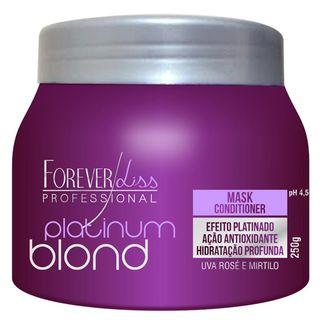 Tudo sobre 'Forever Liss Platinum Blond - Máscara Matizadora 250g'