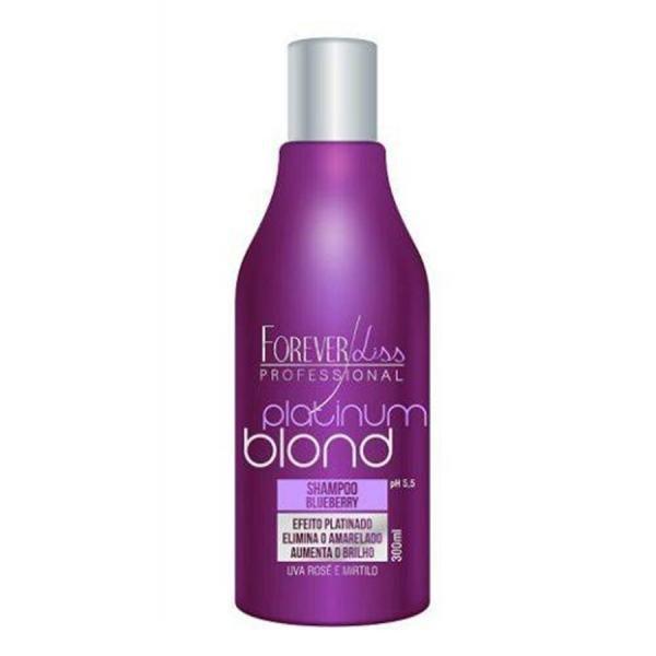 Forever Liss Platinum Blond Shampoo Matizador 300ml