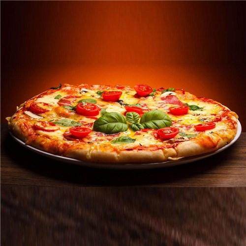 Forma Assadeira Pizza Grande 35Cm Kit 08 Peças Asj