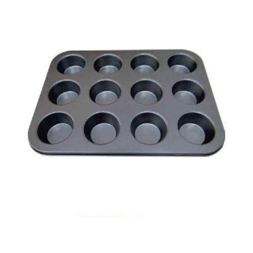 Tudo sobre 'Forma de Cupcake Antiaderente 12 Cupcakes'