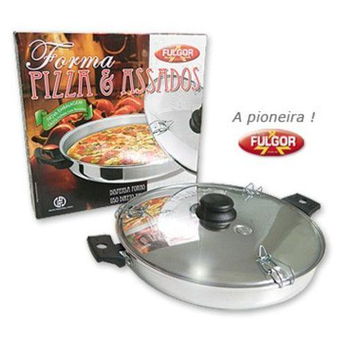 Forma Fulgor de Pizza Polida