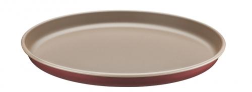 Forma para Pizza Alumínio 30 Cm BRASIL Vermelha - Tramontina