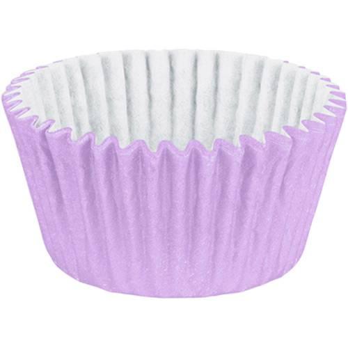 Tudo sobre 'Forminha Cupcake Impermeável Colors Lilás - 45 Unidades - Regina Festas'