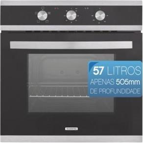 Forno Elétrico de Embutir com 3 Funções - GLASS BRASIL B 60 F3 - Tramontina - 220V