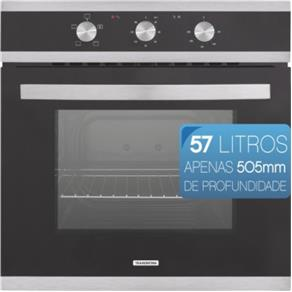 Forno Elétrico de Embutir Tramontina Glass Brasil B60 F3 3 Funções 94865-220 - 220V