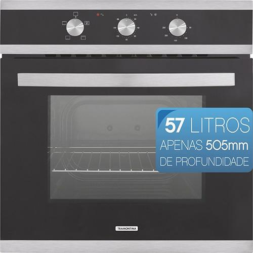 Forno Eletrico Glass Brasil B6 Tramontina