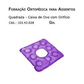Forrações de Assento - Caixa de Ovo Quadrada com Orifício (Gel) - Bioflorence - Cód: 103.0028