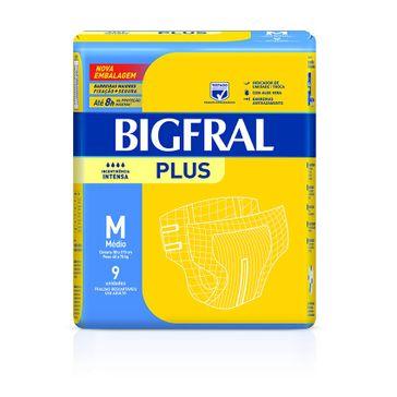 Tudo sobre 'Fralda Bigfral Plus M 9 Unidades'