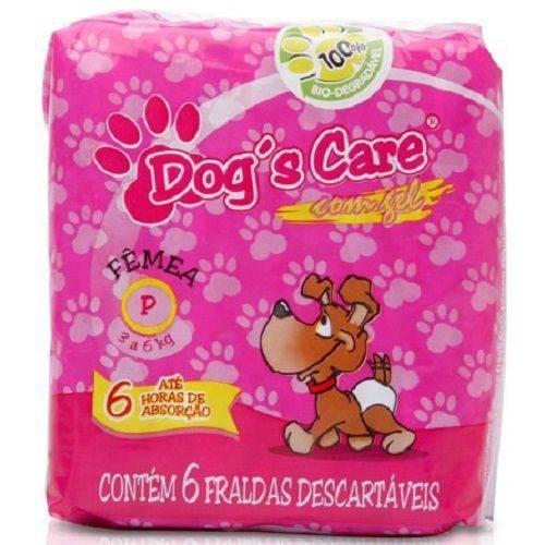 Tudo sobre 'Fralda Dog's Care para Fêmeas Pequena -pacote de 6un'