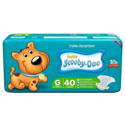 Tudo sobre 'Fraldas Scooby Doo Baby 40 Unidades Tamanho G'