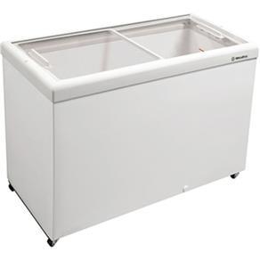 Freezer Horizontal 336L HF40S C/ Tampa de Vidro Branco - Metalfrio - 220V